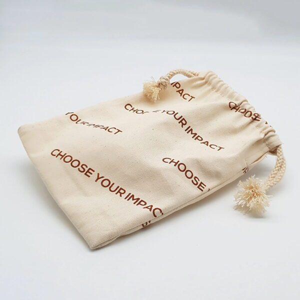 Textile Burlap Gift Bag