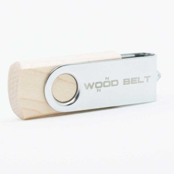 Wooden USB key