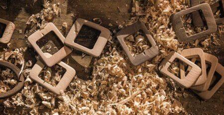 Wood belt as a unique impact product